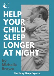 Help your child sleep longer at night ebook