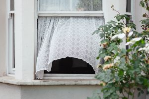 open window to cool the house down